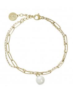Edblad - Berzelii layered armband | guld |