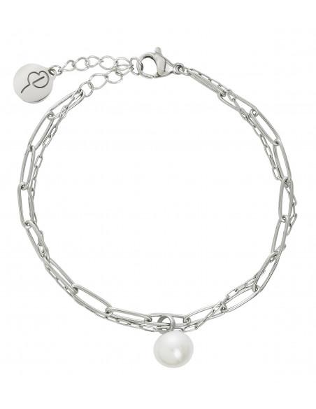 Edblad - Berzelii layered armband | stål |