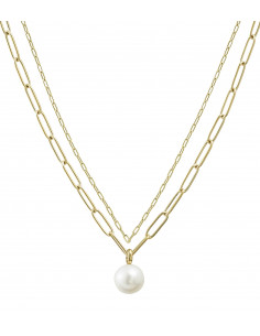Edblad - Berzelii layered halsband | guld |