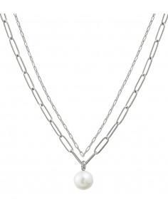 Edblad - Berzelii layered halsband | stål |