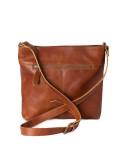 Rosenvinge - Leather front pocket väska