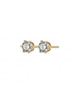 Edblad - Crown studs mini örhänge guld
