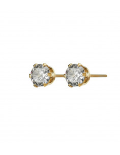 Edblad - örhänge Crown studs gold