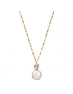 Edblad - Luna halsband guld